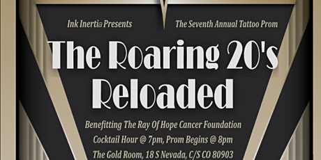 7th Annual Ink Inertia Tattoo Prom: The Roaring 20's Reloaded tickets