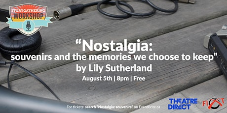 """""""Nostalgia: souvenirs and the memories we choose to keep"""" Lily Sutherland tickets"""