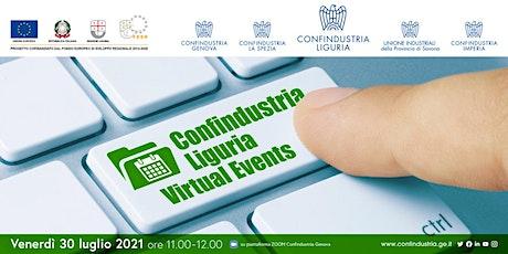 Presentazione Confindustria Liguria Virtual Events biglietti