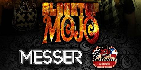 Blacktop Mojo w/ Messer at The Rail Club Live tickets