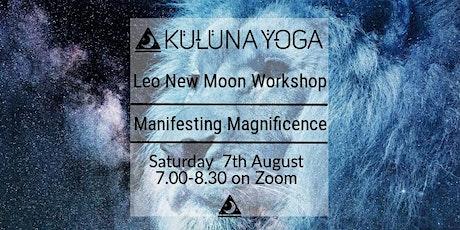 New Moon In Leo Online Workshop tickets
