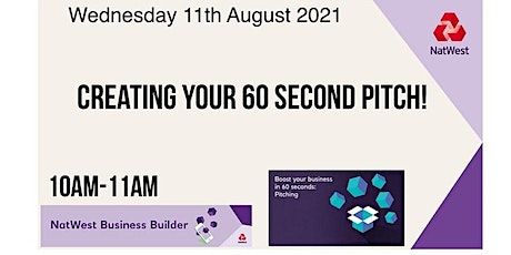 Creating Your 60 Second Pitch! tickets