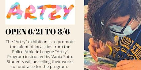 Artzy exhibition closing reception tickets