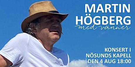 Viskväll med Martin Högberg i Nösunds Kapell tickets