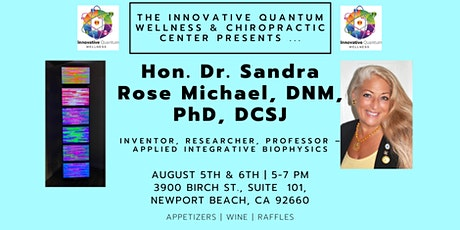 Learn with Dr. Sandra Rose Michael, Inventor of BioScalar EE System entradas