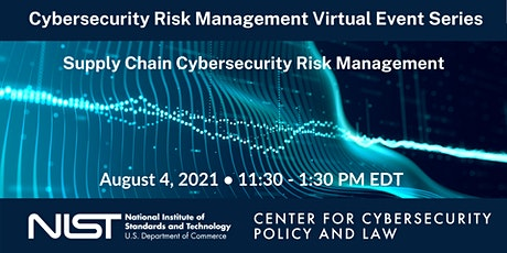 Cybersecurity Risk Management Virtual Event Series: Part 2 tickets