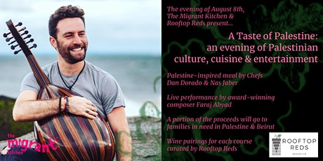 A Taste of Palestine on Sunday August 8th tickets