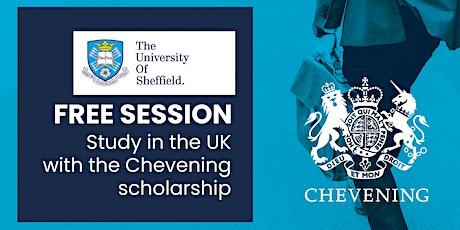 Estudia tu maestría en la Universidad de Sheffield con la beca Chevening entradas