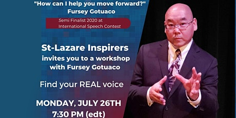 """Workshop presented by Mr. Fursey Gotuaco """" Find Your  Real Voice"""" tickets"""
