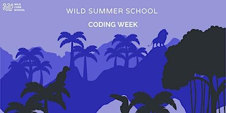 Wild Summer School - Let's make Pixel Art with Javascript! tickets