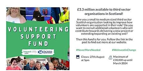 IFP Volunteering Support Fund: Glasgow Information Session tickets