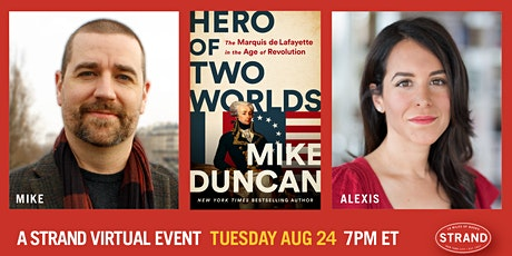 Mike Duncan + Alexis Coe: Hero of Two Worlds billets