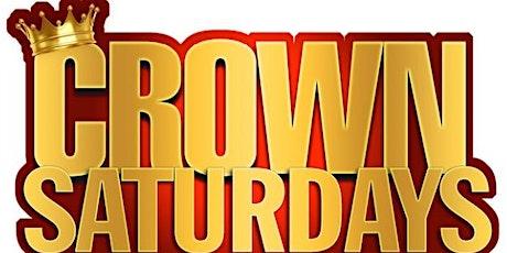Crown Saturdays tickets