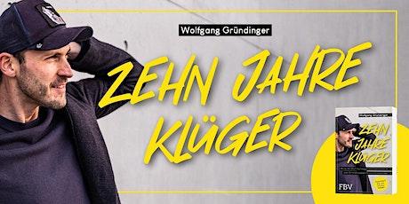 """Buchparty """"Zehn Jahre Klüger"""" Tickets"""