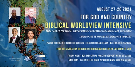 For God & Country Biblical Worldview Intensive tickets