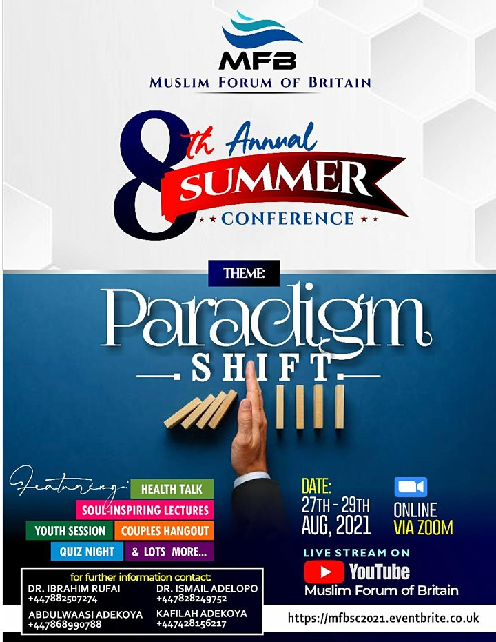 8th Annual Summer Conference image