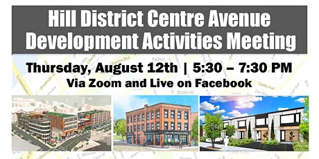 Hill District Centre Avenue Development Activities Meeting tickets