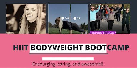 High Intensity Body Weight Bootcamp tickets