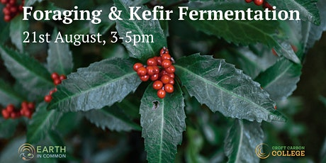 Foraging and Kefir Fermentation tickets