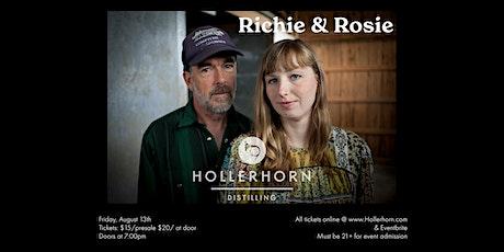 Richie & Rosie at Hollerhorn Distilling tickets