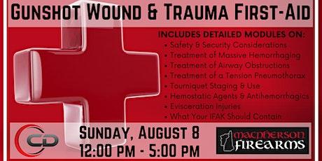 Gunshot Wound & Trauma First-Aid tickets