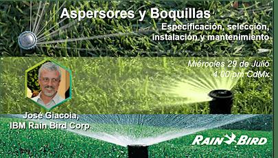 Presentación Comercial Aspersores y Boquillas.  José Giacoia IBM Rain Bird entradas