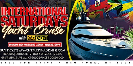 INTERNATIONAL SATURDAY YACHT PARTY #GQEVENT tickets