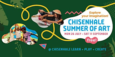 Chisenhale Summer of Art - Family Workshops with Rebecca Griffiths tickets