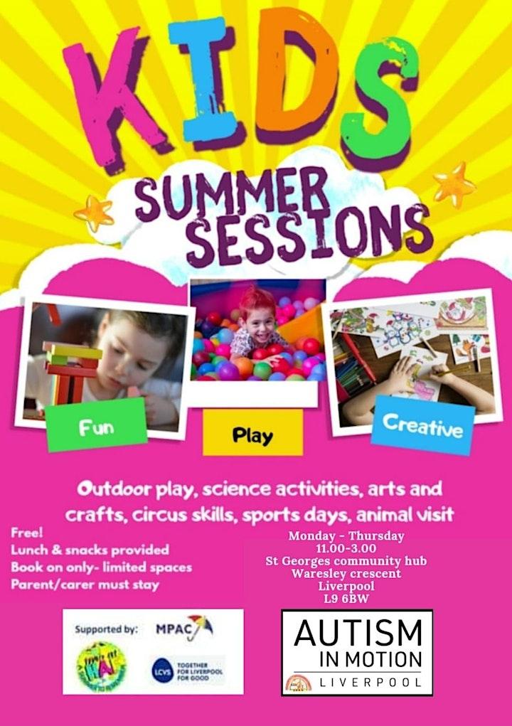 Aim kids summer sessions image