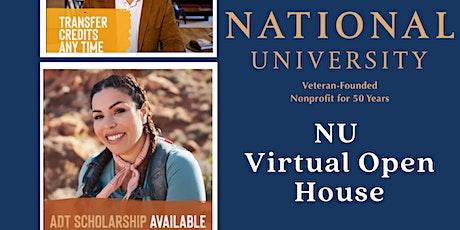 National University Virtual Open House biglietti