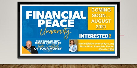 Financial Peace with Rev. Marie Blue of Faith Community Church - Itasca tickets