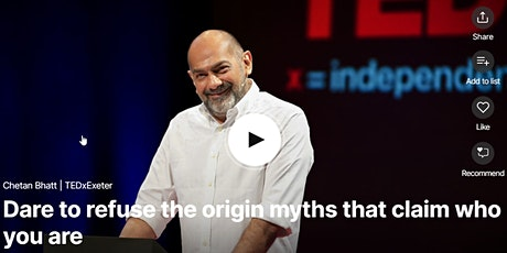 TED Circle -  How can we connect with all humanity, despite our backgrounds tickets