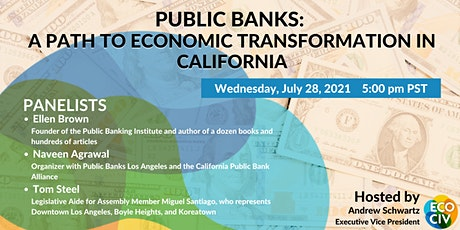 Public Banks: A Path to Economic Transformation in California tickets