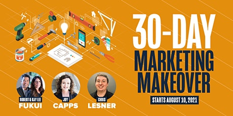 30 Day Marketing Makeover tickets