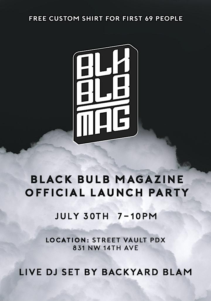 Black Bulb Magazine Official Launch Party image