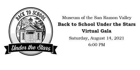Back to School Under the Stars Virtual Gala tickets