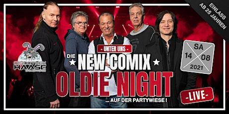 OLDIE NIGHT mit den NEW COMIX -LIVE- auf der Partywiese ! tickets