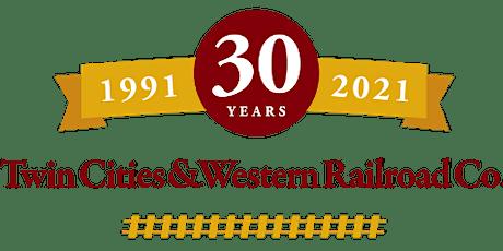 Twin Cities & Western Railroad 30th Anniversary Train Ride tickets