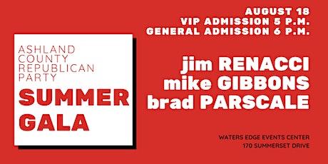 Ashland County Republican Party Summer Gala tickets