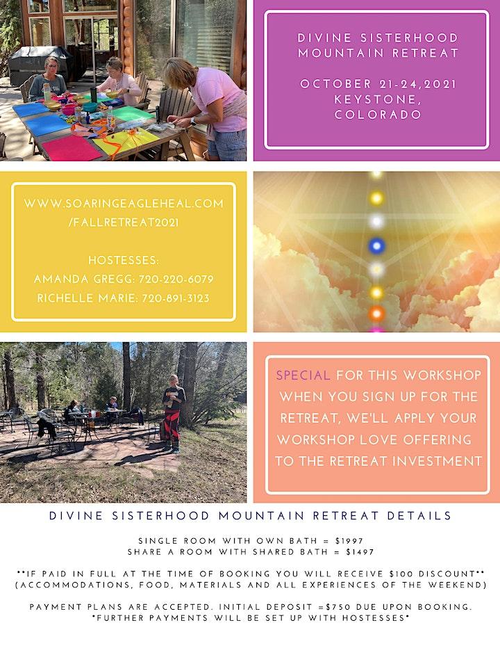 Divine Sisterhood Mountain Retreat - Spring 2022 image