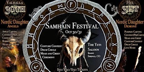 Samhain Festival Oct 30/31 tickets