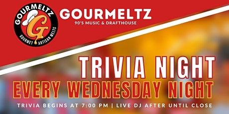 Trivia Night at Gourmeltz tickets