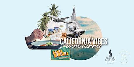 California Vibes Food & Wine Dinner tickets