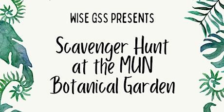 MUN Botanical Garden Scavenger Hunt tickets