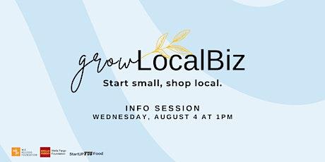 Grow LocalBiz Info Session tickets