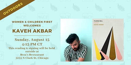 Outdoor Poetry Reading: PILGRIM BELL by Kaveh Akbar tickets