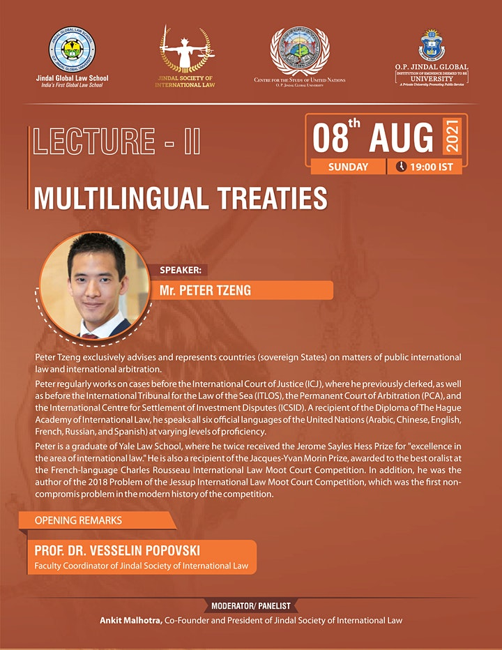Multilingual Treaties image