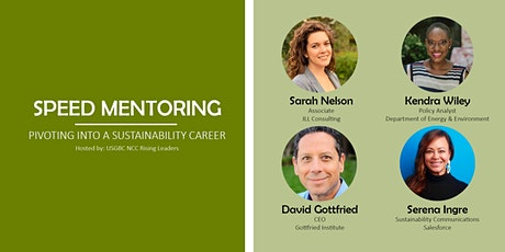 Speed Mentoring – Pivoting into a Sustainable Career - USGBC NCC tickets