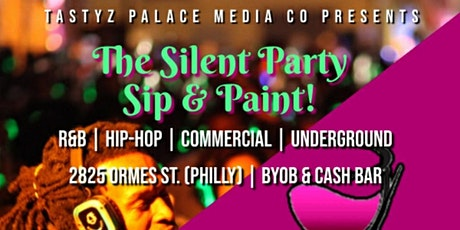 The Silent Party Sip n Paint tickets