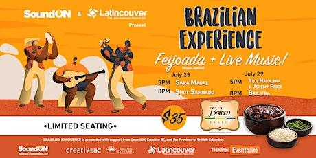 Brazilian Experience at Boteco Brasil tickets